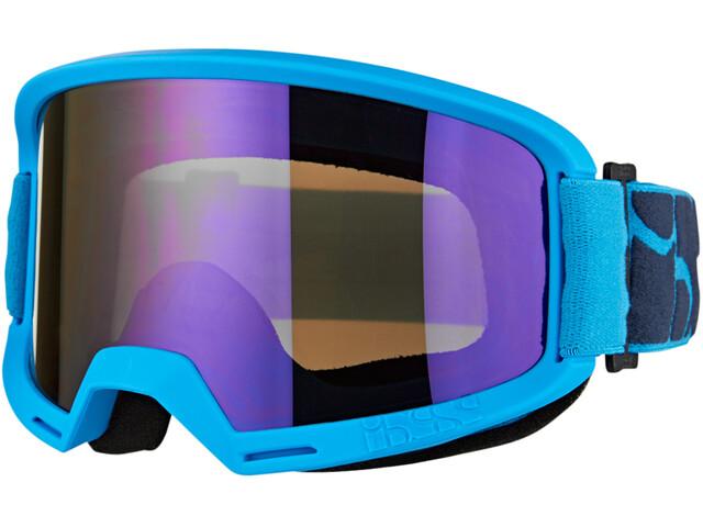 IXS Hack Mirror Maschera, racing blue